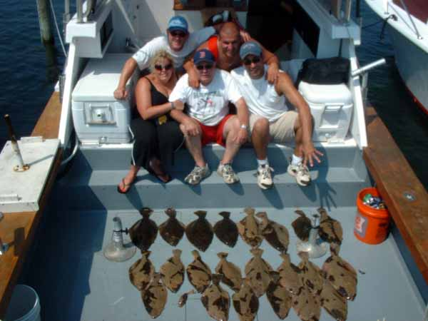 This charter was the best flounder trip of the season.