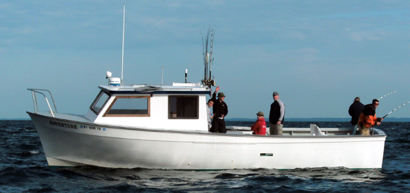 Rhode island charter boats fishing charters on the for Downeast fishing gear